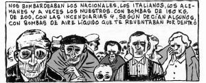 Las viñetas de Miguel Gallardo recrean las vivencias de su padre.