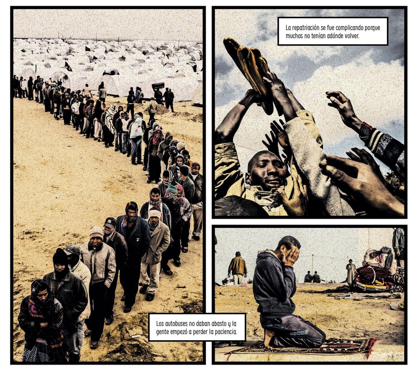 Resultado de imagen para drama refugiados a blanco y negro